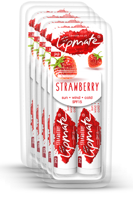Lipmate Strawberry Lip balm The Wholesaler