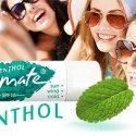 Menthol flavour lip balm