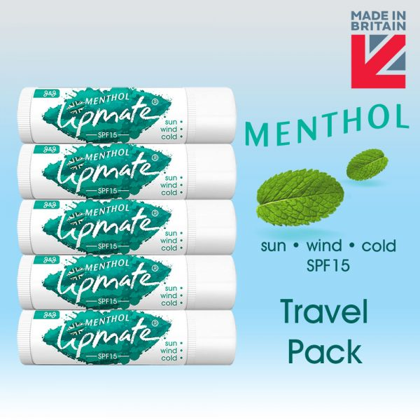 Menthol Lip balm Travel Pack
