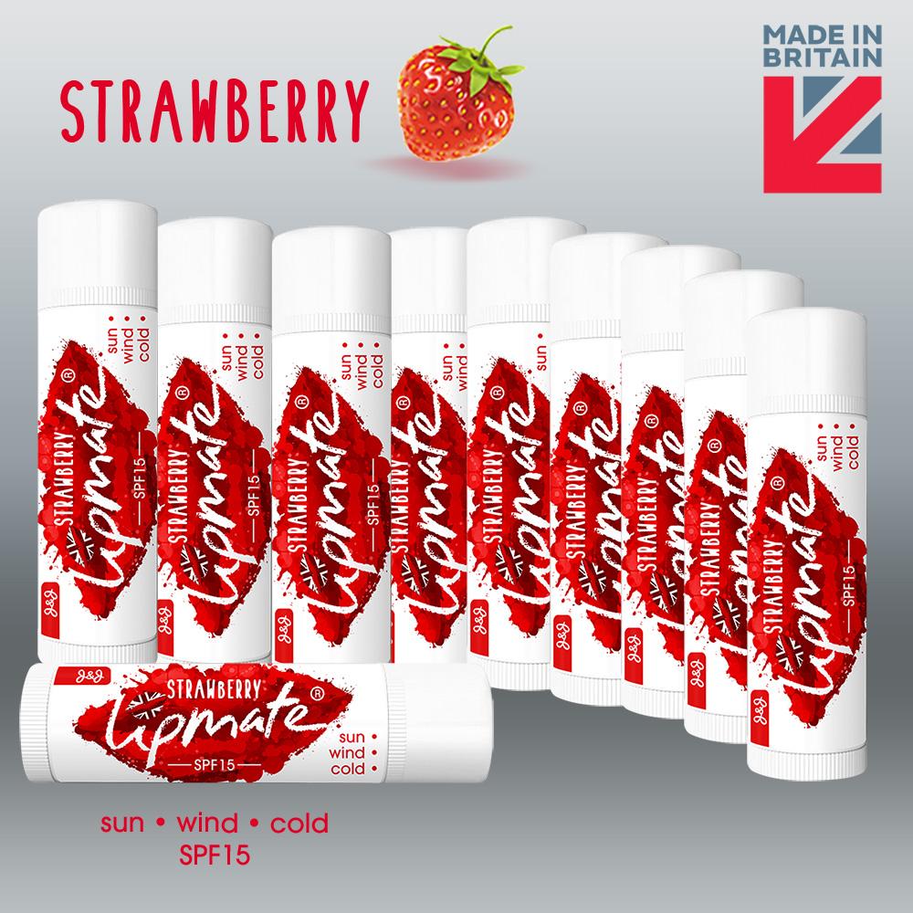 Strawberry Flavour Lip balm