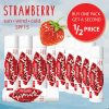 Strawberry flavour lip balm